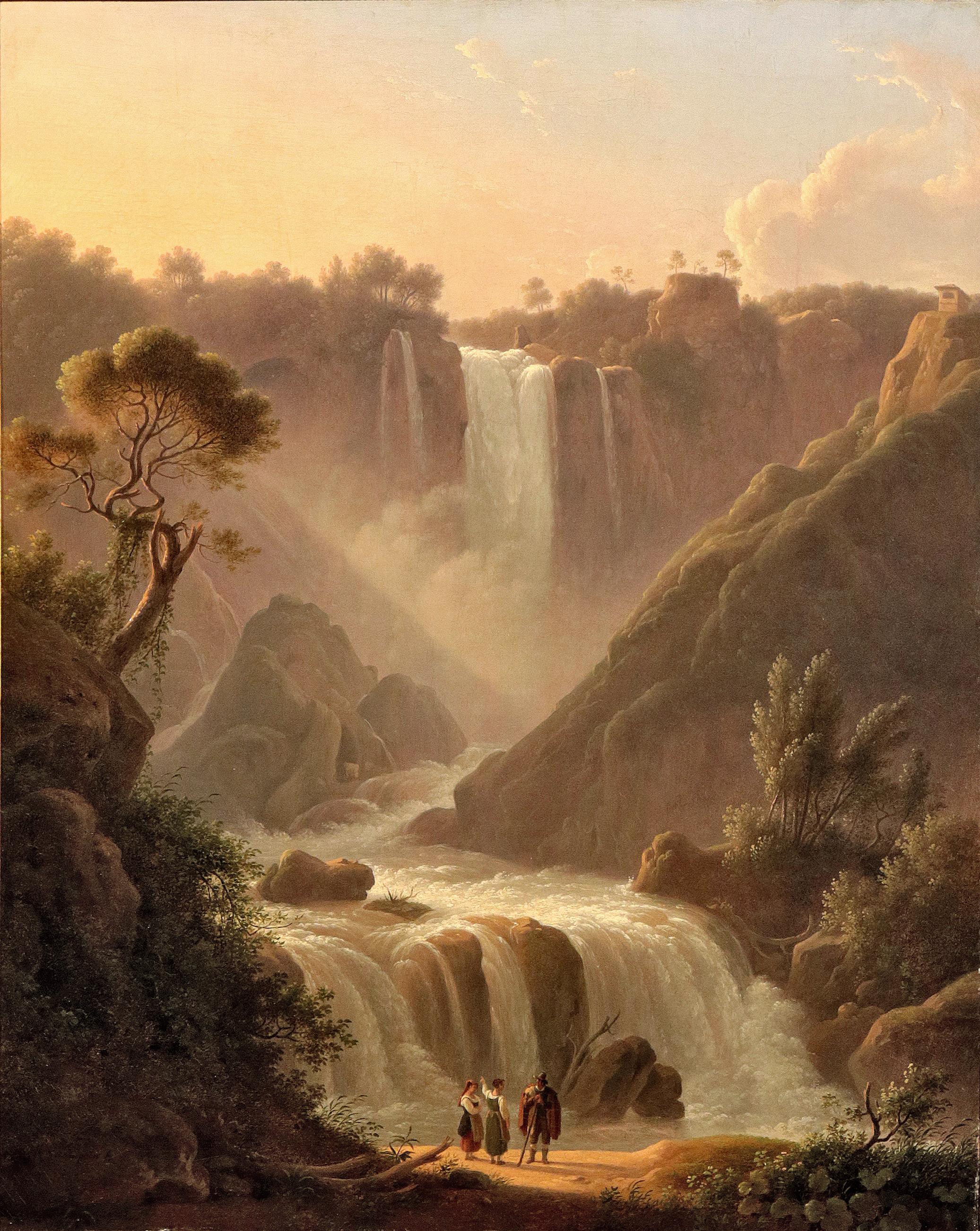 Martin Verstappen<br>La cascata delle Marmore<br>1815-1825 ca.