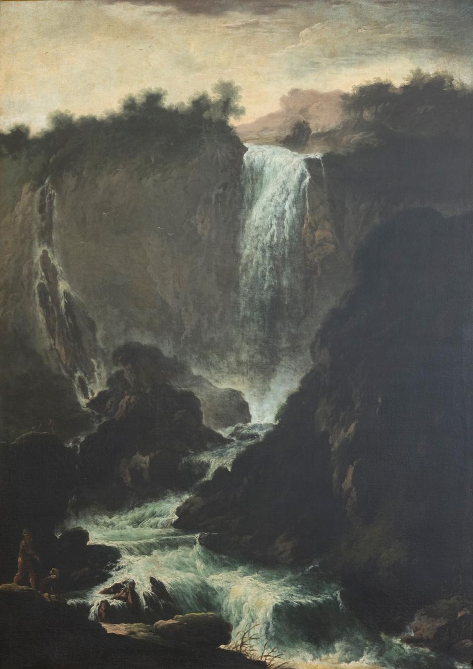 La cascata delle Marmore<br>ultimo quarto XVII secolo