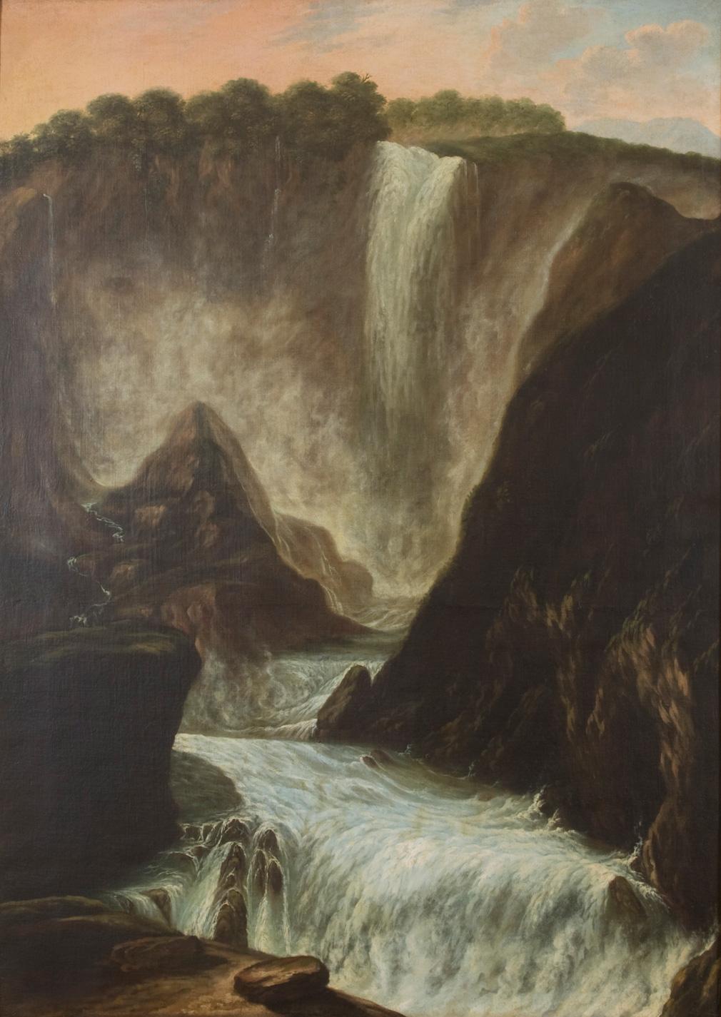 La cascata delle Marmore<br>XVII secolo